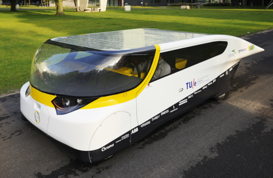 This solar-powered car lets you drive for free