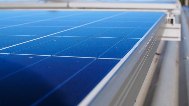 rooftop solar PV panels